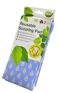 Smart 10040 Reusable Scouring Pads, 2-Pack