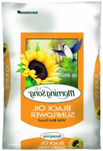 Morning Song 11410 Black Oil Sunflower Wild Bird Food, 50-