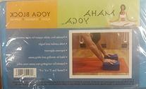 MAHA MY-102 Maha Yoga Block- Eva: 3 in. X 6 in. X 9 in
