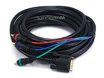 Monoprice 102174 25-Feet VGA to 3 RCA Component Video Cable