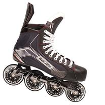 Bauer 1047269 Junior Vapor X300R Roller Hockey Skate, Black