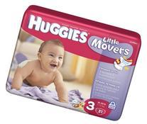 Kimberly Clark 10517.0 Huggies Diaper Ultra Trim, Size 3