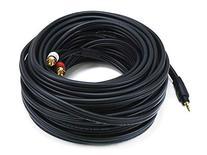Monoprice 105603 50-Feet Premium Stereo Male to 2RCA Male
