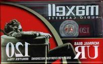 Max108010Us Cassette Audio 120Min