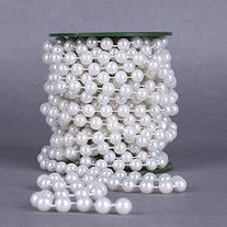 Krismile®10meters Roll 10mm Pearl String Party Garland