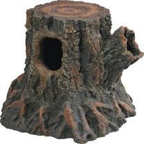Zilla Reptile Habitat Décor Hideouts Stump Den, Medium