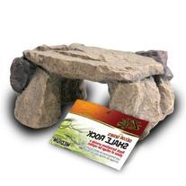 Zilla Reptile Habitat Décor Shale Rock Den, Medium