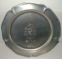 12/26/1970 AFC Championship Game Pewter Serving Tray Colts