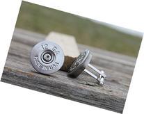 12 Gauge Federal Silver Shot Gun Shell CuffLinks Made in the