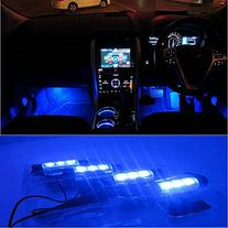 Docooler 12V 12 LED Car Auto Interior Atmosphere Lights