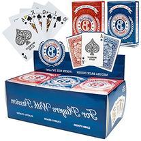 12 Decks  of Brybelly Elite Medusa Back Casino-Quality