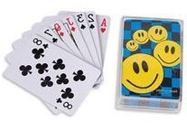 ~ 12 Decks ~ Mini Smile Face Playing Cards ~ NIP