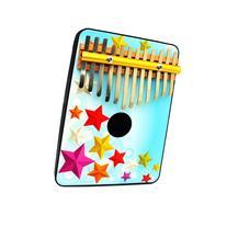 Schoenhut 12 Note Stars Thumb Piano