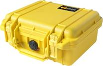 Pelican 1200 Case with Foam for Camera Yellow