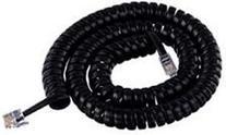 Cablesys 1200BK GCHA444012-FBK / 12' BLACK Handset Cord