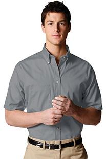 Ed Garments 1230 Men's Easy Care Short Sleeve Poplin Shirt