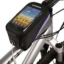 "12496S-B5 4.2"" Bicycle Smart Phone Bag with Headset Jack"