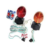 12v 3 In 1 Magnetic Towing Tow Light Kit Trailer Truck Tail