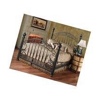 Hillsdale Furniture 1335BKR Chesapeake Bed Set with Rails,
