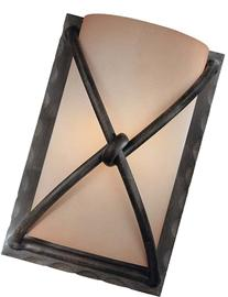 Minka Lavery Wall Sconce Lighting 1974-1-138, Aspen II Glass