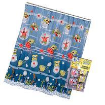 13pc Nickelodeon Spongebob Squarepants Shower Curtain and