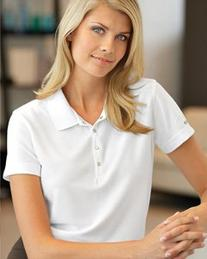 IZOD - Ladies' Performance Pique Sport Shirt with Snaps -