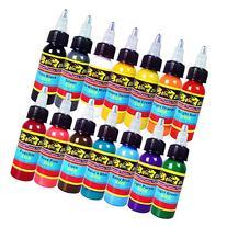 Solong Tattoo® 14 Basic Colors Tattoo Ink Set Pigment Kit