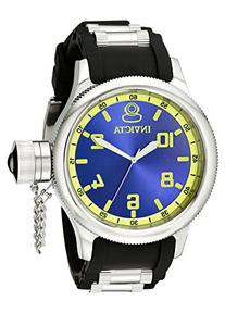 Invicta Men's 1434 Russian Diver Blue Dial Stainless Steel
