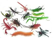 ~ 144 ~ Assorted Realistic Insects / Bugs by Rhode Island Novelty