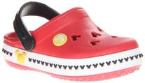 crocs 14609 CB Mickey 3 Clog ,Red/Black,12 M US Little Kid