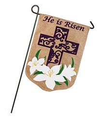 Evergreen Enterprises 14B3586BL Easter Lily Garden Flag