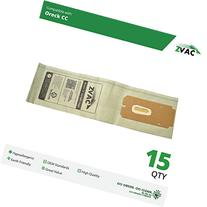 ZVac 15pk Compatible Vacuum Bags Replacement for Oreck CC