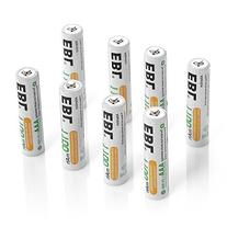 EBL 8 Pack 1500 Cycle 1100mAh AAA Ni-MH Rechargeable