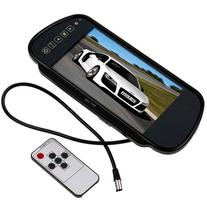 Buyee 7 Inch 16:9 TFT LCD Widescreen Car Rearview Mirror