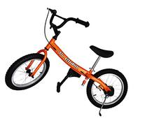 Glide Bikes 16 in. Go Glider Balance Bike - Orange