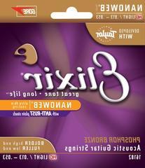 Elixir Strings Phosphor Bronze Acoustic Guitar Strings w