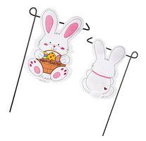 Evergreen 16F8510FB Easter Bunny Outdoor-Safe Felt Garden