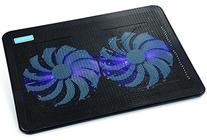 "AVANTEK 15""-17"" Ultra Slim Laptop Cooling Pad Cooler 2 Quiet"