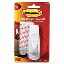 Command 17003 Removable Adhesive Utility Hook- 5-lb Capacity