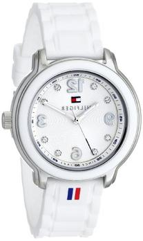 Tommy Hilfiger Women's 1781418 Crystal-Accented Stainless