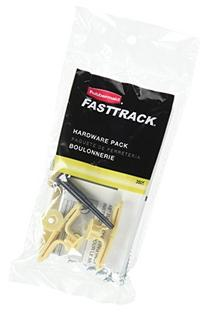 Rubbermaid 1784975 Fasttrack/Fast track Hardware Pack