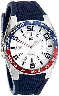 Tommy Hilfiger Men's 1790885 Stainless Steel Watch With Blue