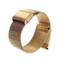 18/20/22/24mm Stainless Steel Watch Mesh Band Strap Double