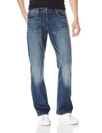 Lucky Brand Men's 181 Relaxed Straight-Leg Jean, Denali,