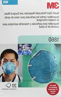 3M 1860 N95 Health Care Respirator 20 Per Box