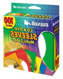 MAXELL 190132 - CD403 CD/DVD Storage Sleeves
