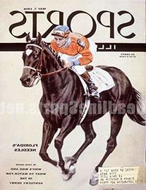 1956 Needles & Dave Erb Horse Racing Sports Illustrated