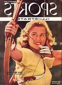 1960 Ann Marston Archery Champion No Label Sports