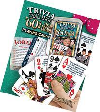 Flickback 1960's Decade Trivia Playing Cards: 50th Birthday