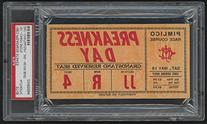 1963 Preakness Stakes Ticket Stub - Candy Spots Wins and